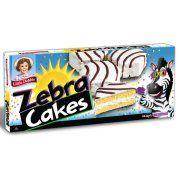 Little Debbie Zebra Cakes 13 oz Boxes - Pack of 4