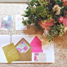 Custom Wedding Invitations from Tie That Binds in Portland, Oregon