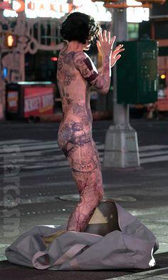 Jane Doe's full body tattoos from my favorite new show, Blindspot.