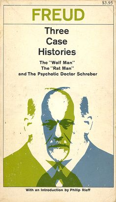 Sigmund Freud - Three Case Histories (cover by Roy Kuhlman, 1963)