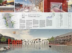 [A3N] : Amsterdam Iconic Pedestrian Bridge Competition Winners (Honorable Mention 01 : I.amsterdam) /Maarten den Teuling,Lisa Tang architects ( Netherlands )