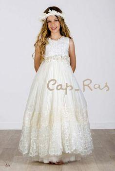 Vestido Comunión Cap-Ras Liz
