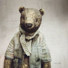Your place to buy and sell all things handmade Old Teddy Bears, Vintage Teddy Bears, Charlie Bears, Japanese Cotton, Bear Doll, Plush, Crafty, Stuffed Animals, Bunnies