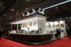 Manitowoc Stand in Hostelco 2012 where the product fits perfectly with the carpentry work