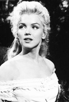 Marilyn Monroe in River of No Return.