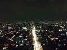 México City in The Night