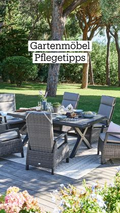 Low Maintenance Landscaping, Outdoor Furniture Sets, Outdoor Decor, Garden Projects, Horticulture, Aluminium, Balcony, Home And Garden, Patio