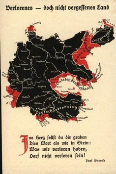 Lost, but not forgotten lands, early 1920s.