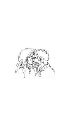 Art coffin nails for wedding - Coffin Nails Art Sketches, Art Drawings, Poster Minimalista, Arte Sketchbook, Minimalist Art, Aesthetic Wallpapers, Love Art, Art Inspo, Illustration Art