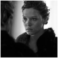 Lea Seydoux Photography by Peter Lindbergh for Interview Magazine, September Peter Lindbergh, Joseph Kosuth, Lea Seydoux, Interview, New York, French Actress, Mens Fall, Film Director, Paris