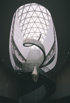 The Dress | The Venue. Salvador Dali Museum in St. Petersburg. Photograph by Jeremy Scott Photography