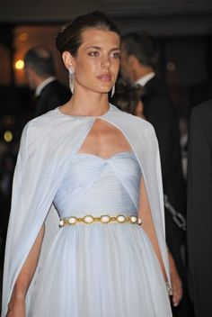 Princess Charlotte Casiraghi, daughter of Princess Caroline of Monaco, granddaughter of Princess Grace (Kelly) of Monaco.