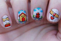 Dog #nail #nails #nailart