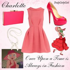 Disney Style: Charlotte (2), created by trulygirlygirl on Polyvore