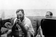 """Ernest Hemingway: """"Writing, at its best, is a lonely life"""". Il discorso al premio Nobel. #hemingway"""