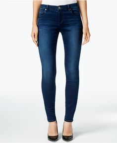 Kut from the Kloth Mia Toothpick Skinny Jeans, Kindness Wash - would love these in black!