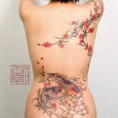 Japanese Garden tattoos-and-body-painting