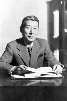 Holocaust History - Rescue by Righteous - Yad Vashem Sempo Sugihara, a Japanese Righteous Among the Nations, who served as a diplomat in Lithuania and saved thousands of Jews during the Holocaust by issuing Japanese travel visas Yad Vashem Photo Archives 4613/822 « PreviousImage 2 of 5Next »