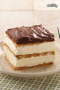 Graham Cracker Eclair Cake #recipe