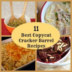 11 Best Copycat Cracker Barrel Recipes