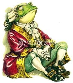"""Lewis Carroll """"Alice in Wonderland"""" ill by Libico Maraja Lewis Carroll, Frosch Illustration, Children's Book Illustration, Frog Pictures, Funny Frogs, Frog Art, Frog And Toad, Adventures In Wonderland, Vampires"""