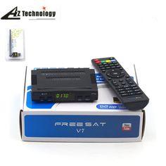 >> Click to Buy << Openbox Freesat V7+USB WiFi Digital Satellite receiver Support 1 year europe CCcam cline DVB-S2 Cccam cline server Set top Box #Affiliate
