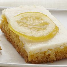 Sunshine Lemon Bars: Create the taste of sunshine using our Duncan Hines Lemon Supreme Cake Mix. These Sunshine Lemon Bars will add a welcome twist to any occasion.