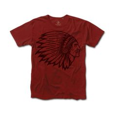 The Last Match Co. - Indian Head on Shop Rag Red