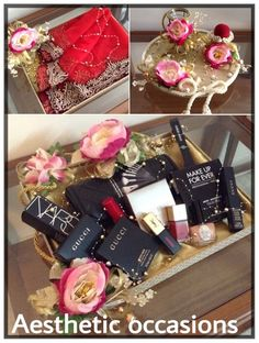 Photo From Ring trays & roka ceremonies - By Aesthetic Occasions Wedding Gift Hampers, Wedding Gift Wrapping, Wedding Gift Boxes, Wedding Props, Indian Wedding Gifts, Creative Wedding Gifts, Bengali Wedding, Desi Wedding, Engagement Decorations