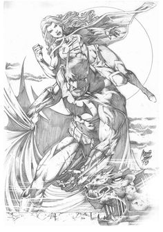 Batman Supergirl by MARCIOABREU7 on DeviantArt