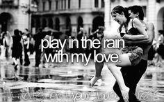 #A warm summer rain<3