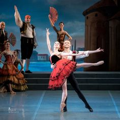 Angelina Vorontsova and Denis Matvienko in Don Quixote