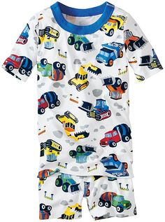 Got a girl who loves construction trucks? These PJs from Hanna Andersson are perfect (you just have to raid the boys department to find them). Sizes 1-12.