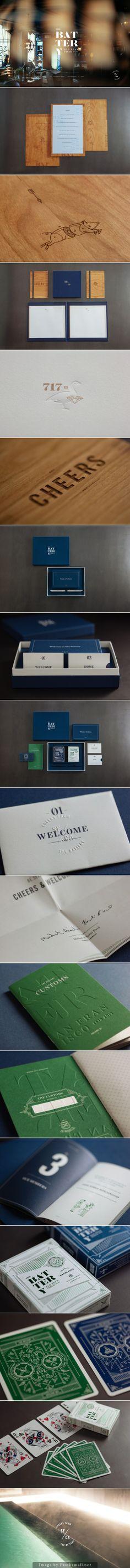 Cool Brand Identity Design. The Battery. #branding #brandidentity [http://www.pinterest.com/alfredchong/]