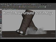 ▶ How To Make Ground Dust in Maya (파티클 먼지 만들기) - YouTube