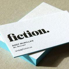Simple letterpress business cards - Freelance Graphic Designer // logo design // print design // letterpress printing