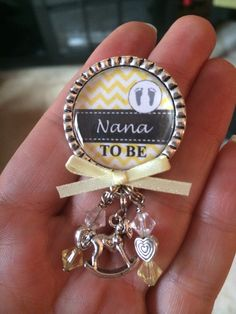 Nana To Be Pin, Personalized Gift, Baby Shower, First Baby, Pregnancy…