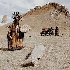 Shamanic funeral ceremony- azerbaijan