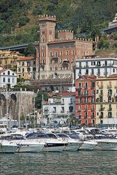 Salerno, Campania region, Amalfi Coast, Italy.