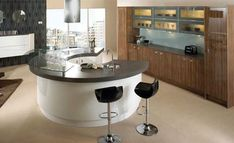 1000 images about kitchen on pinterest kitchen islands for Different shaped kitchen island designs with seating