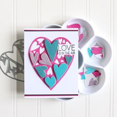 Make your handmade cards and gifts stand out from the crowd using our fabulous Abstract Shape die and stamp sets. These sets feature a variety of stunning designs that cover a range of occasions! Project by Crystal Schneider Crafters Companion Cards, Abstract Shapes, Stamp Sets, Handmade Cards, Crowd, Stampin Up, Stamps, Craft Ideas, Range