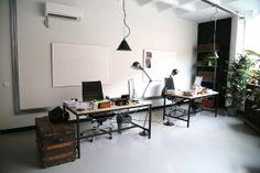 En el estudio de The Hip Tee: El despacho, la parte favorita de las diseñadoras