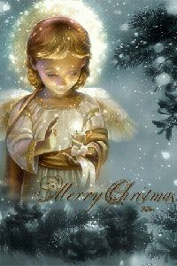 image anime - Page 12 - Fitne Pini Christmas Greetings Christian, Merry Christmas Gif, Christmas Card Sayings, Christian Christmas, Christmas Scenes, Merry Christmas And Happy New Year, Christmas Pictures, Christmas Angels, Christmas Snowman