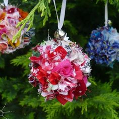 Looking for something to use your scraps for this holiday season? Check out this Christmas Fabric Scraps Ornaments Pattern on Craftsy.com