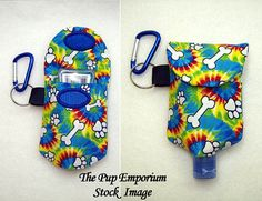 Poop Bag Dispenser Hand Gel Sanitizer Carrier  by ThePupEmporium, $6.25