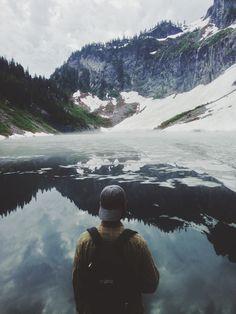 Lake view by Caleb B
