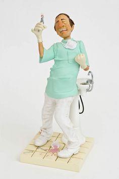 Figura para decorar Le Dentiste (el dentista, the dentist) de Guillermo Forchino. See more at http://www.lacasadelocio.es/tienda-online.html