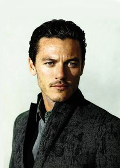 Luke Evans. The definition of a smouldering look.