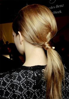 ponytail-2 by {this is glamorous}, via Flickr