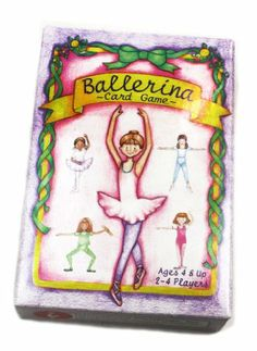 Amazon.com: Ballerina Card Game and Memory Match Educational Learning Game: Toys & Games